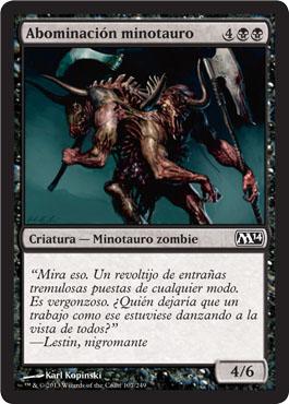 Abominación minotauro