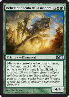 Behemot nacido de la madera