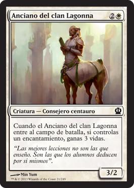 Anciano del clan Lagonna