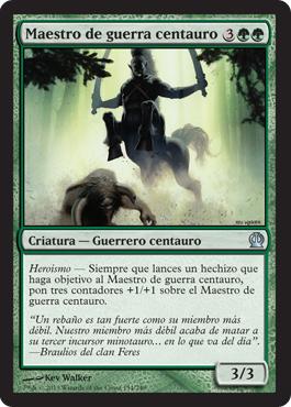 Maestro de guerra centauro