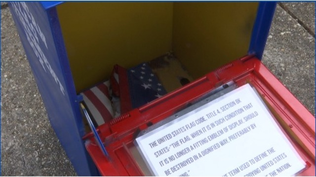 Flag retirement boxes commissioned in Mobile