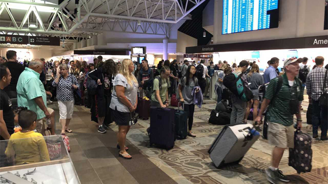 Busy travel day expected at Nashville airport