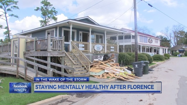 In the wake of the storm  how to stay mentally healthy after Florence