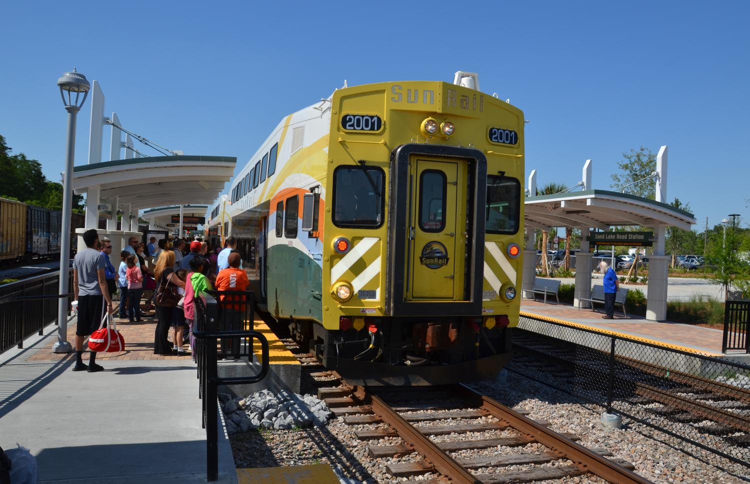 Sunrail Exceeding Ridership Expectations Officials