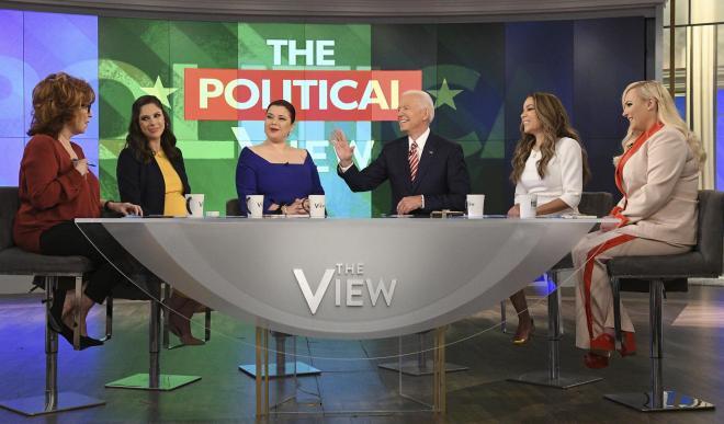 Joe Biden appears on The View