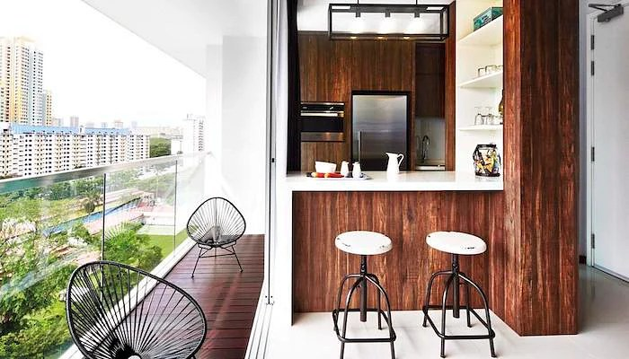 17 Beautiful Space Enhancing Balcony Design Ideas From Singapore Homes The Singapore Women S Weekly