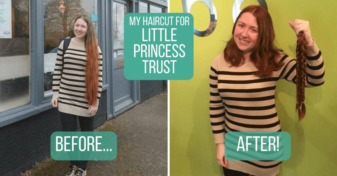 My 20 Inch Haircut For The Little Princess Trust Wonderfully Bookish