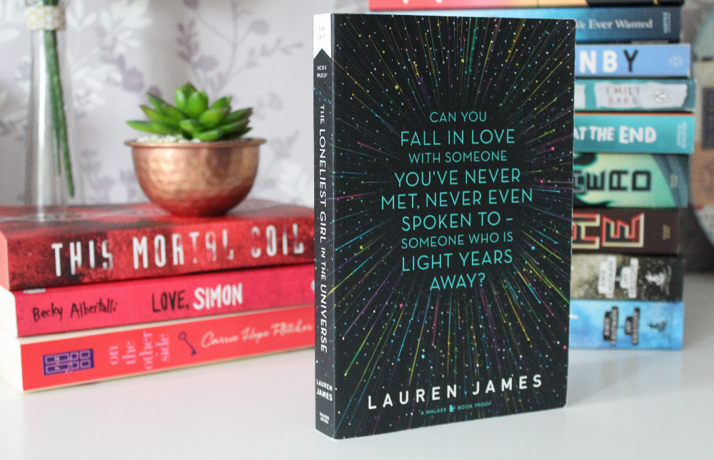 The Loneliest Girl in the Universe by Lauren James – Book Review