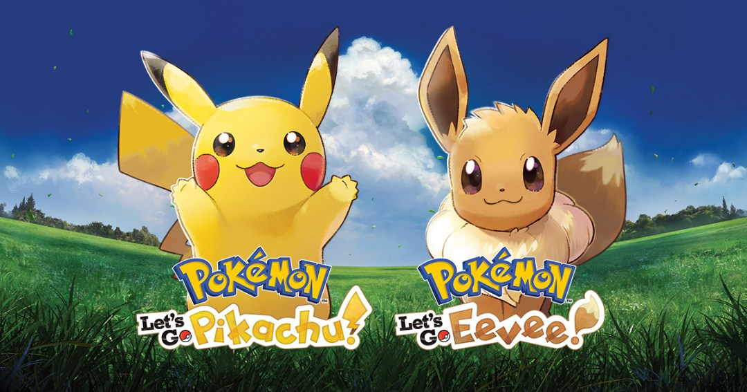 Pokemon Let's Go - Eevee and Pikachu poster