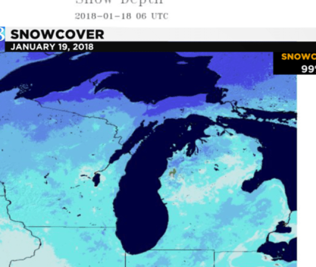 Photo Copyright By Woodtv All Rights Reserved Michigan Snowcover