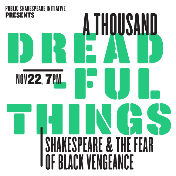 WHO'S THERE: HAMLET AND BLACK LIVES - Nov. 10 at 7PM