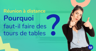 Réunion distance Faire tour de table