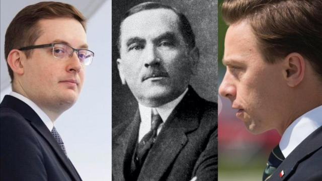 Winnicki, Dmowski, Bosak / autor: Fratria / Domena publiczna