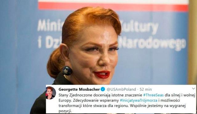 Ambasador USA w Polsce / autor: Fratria