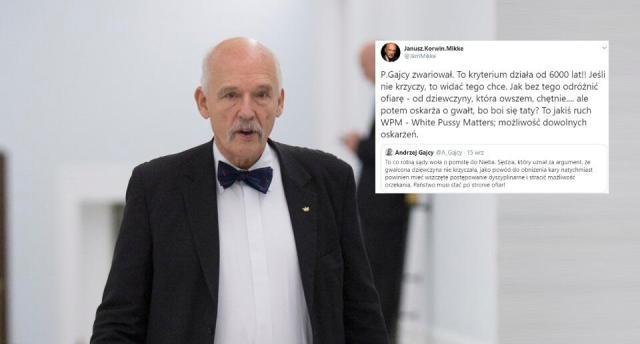 Janusz Korwin-Mikke / autor: fratria