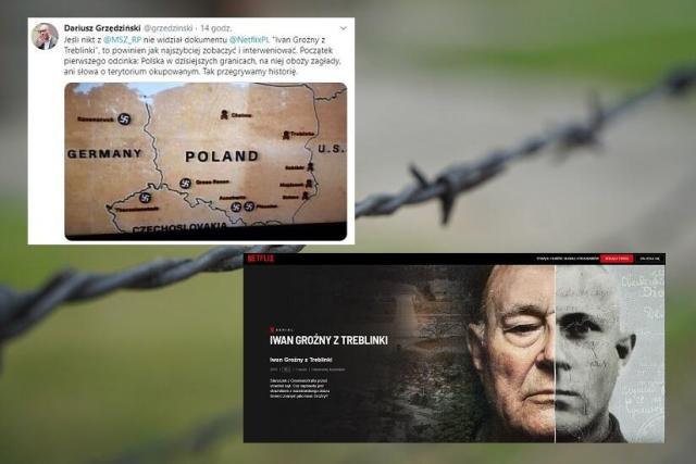 Obóz zagłady (zdjęcie ilustracyjne) / autor: Fratria ;screen: netflix.com; Twitter Dariusz Grzędziński