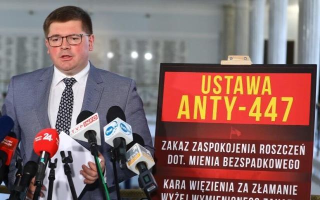 Tomasz Rzymkowski, poseł Kukiz '15 / autor:  PAP/Rafał Guz