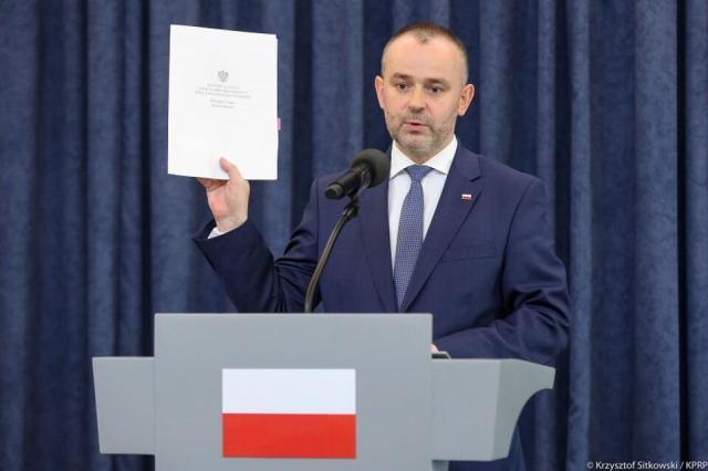 Wiceszef KPRP minister Paweł Mucha / autor: Krzysztof Sitkowski/KPRP