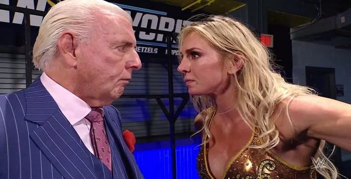 Charlotte Did Not Like Sharing TV Time With Ric Flair