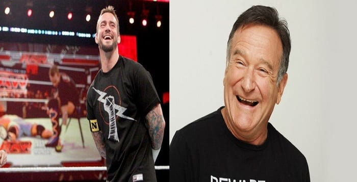 WATCH: CM Punk Talks Putting Robin Williams In An Airplane Spin