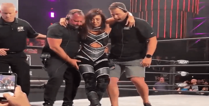 Nasty Injury Takes Place During AEW Dynamite