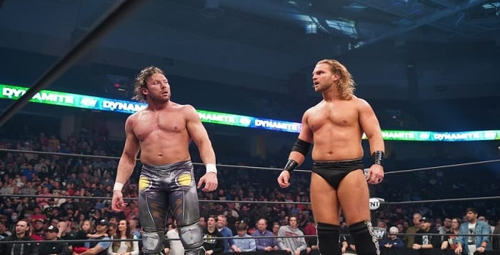 Backstage News On AEW's Plans For Hangman Page vs. Kenny Omega
