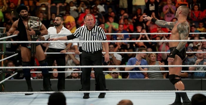 WATCH: Jinder Mahal vs. Randy Orton From Money in the Bank 2017