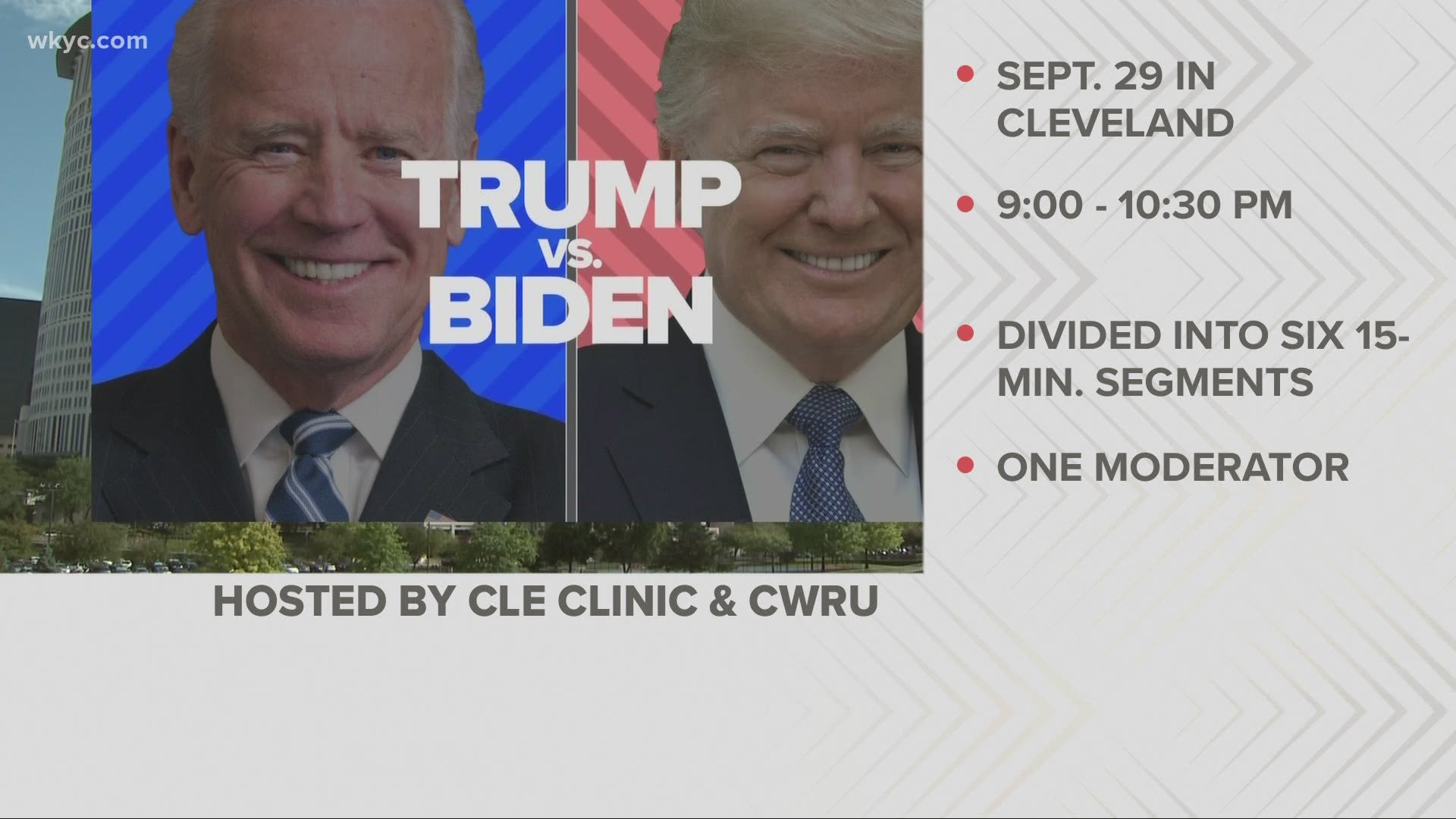 Officials Release New Details On First Presidential Debate