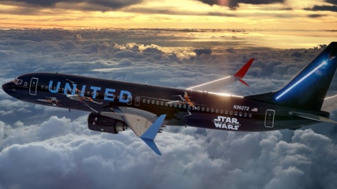 United Airlines Star Wars