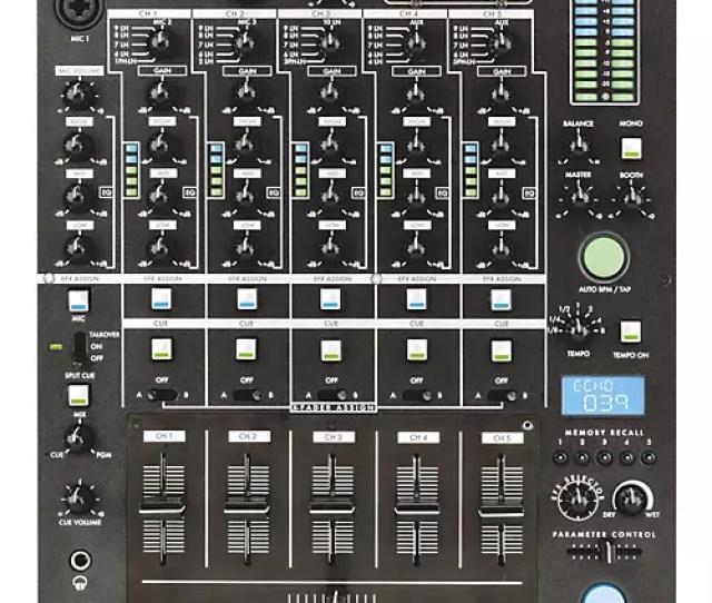 Gemini Cs  Channel Stereo Dj Mixer Thumbnail