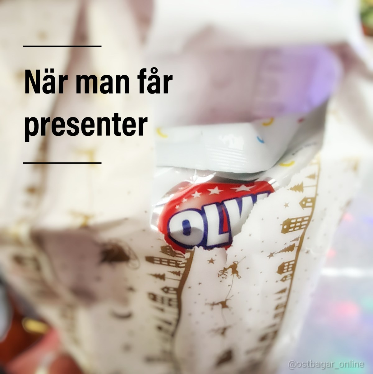 När man får presenter