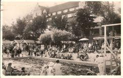 Simtävlingar i Falsterbohus 1938.