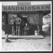 Strandkiosken på Kämpingestranden.