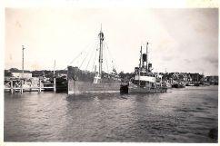 1940. Steinbjörn och Ran. Kanalen nästan klar.