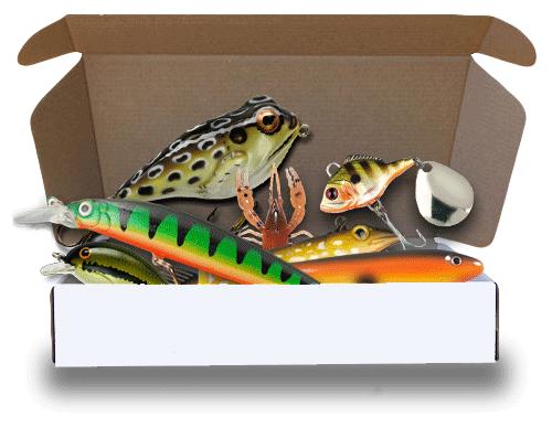 present till en man eller kvinna som fiskar