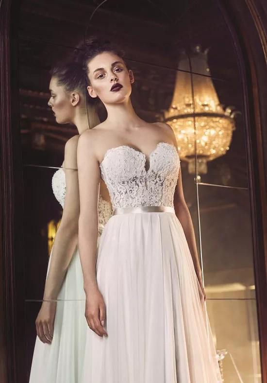 Paloma Blanca 4707 Wedding Dress The Knot