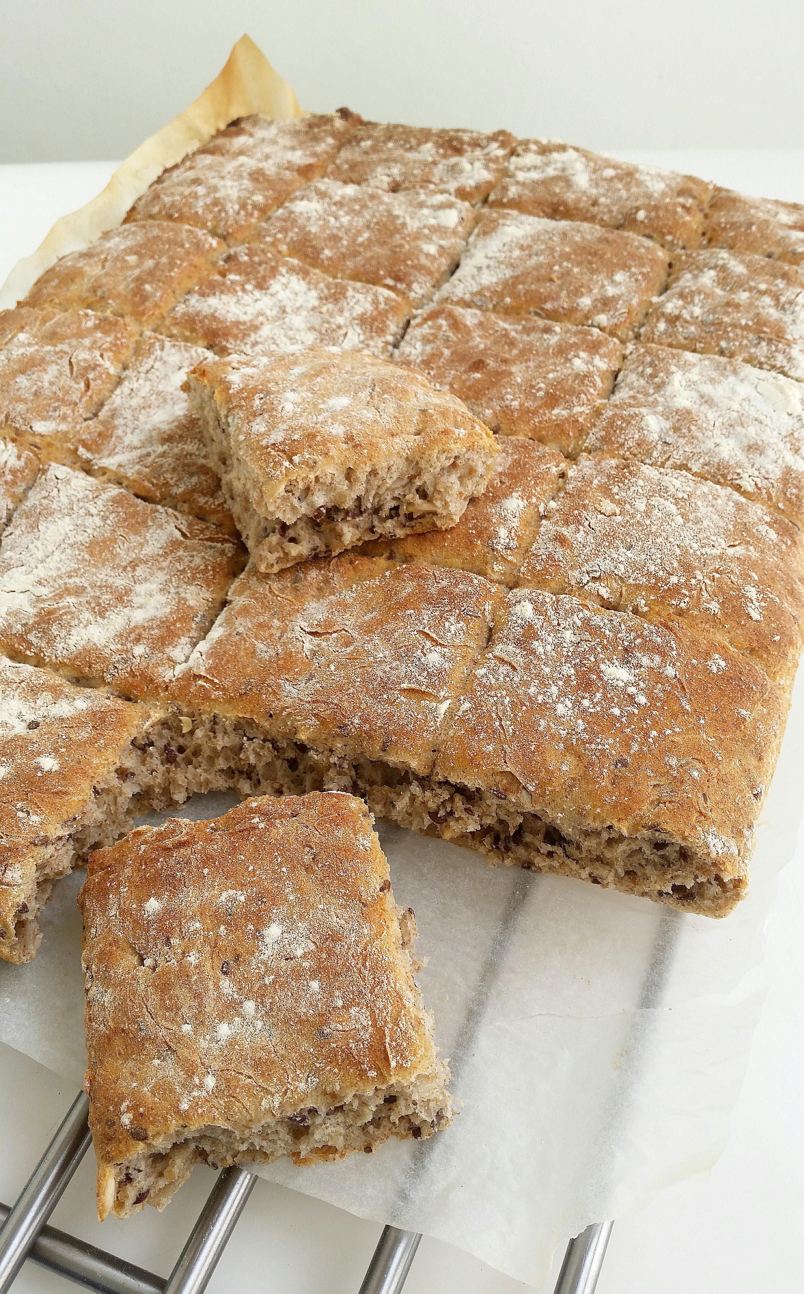 linfrö i bröd