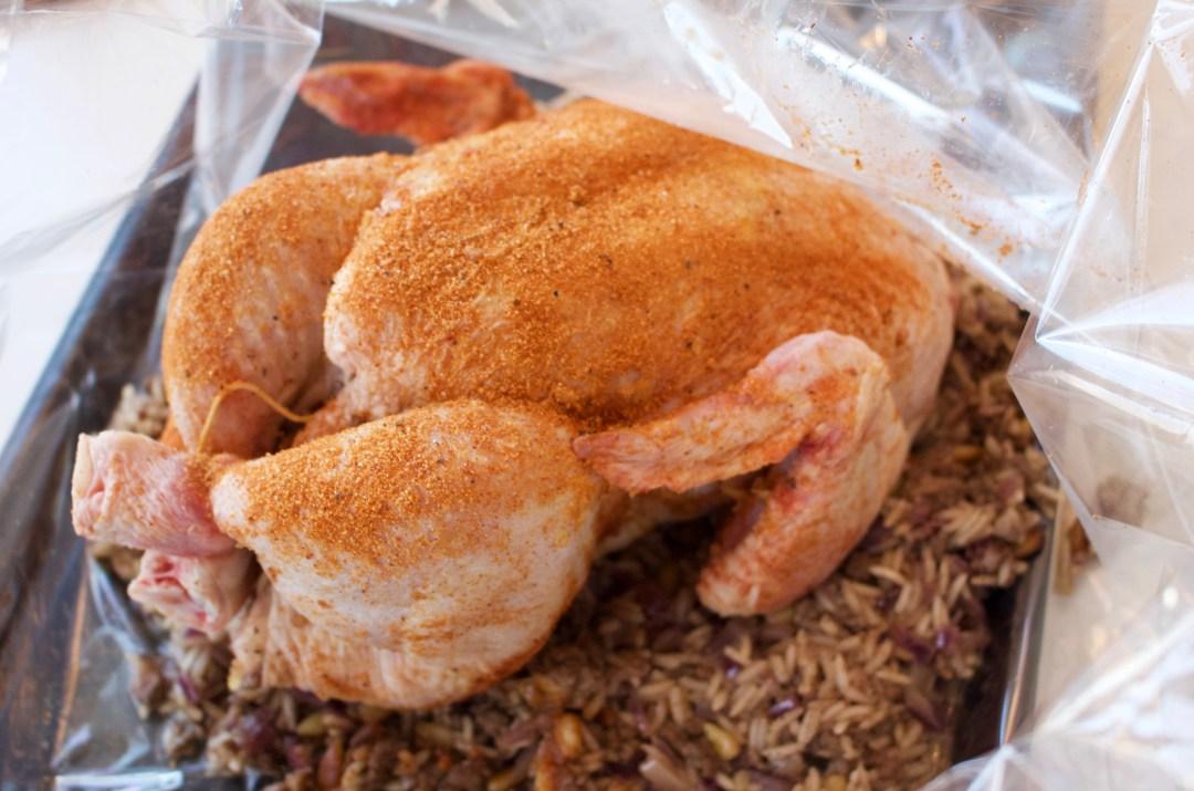 Fylld kyckling