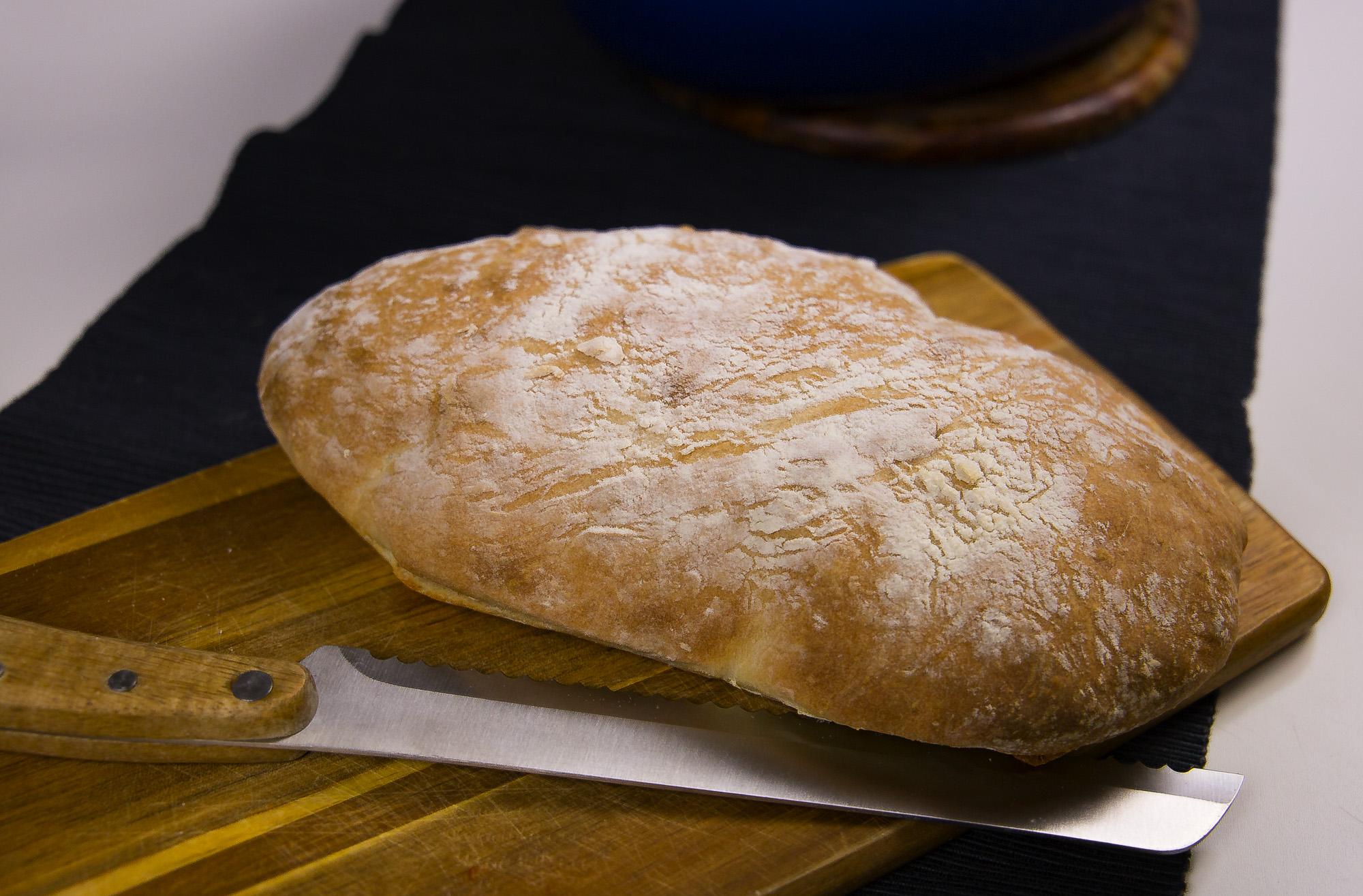 snabbt enkelt bröd