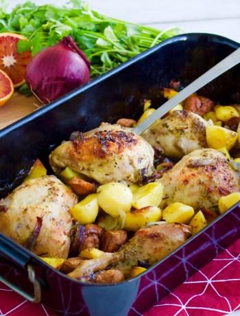 Spansk kyckling