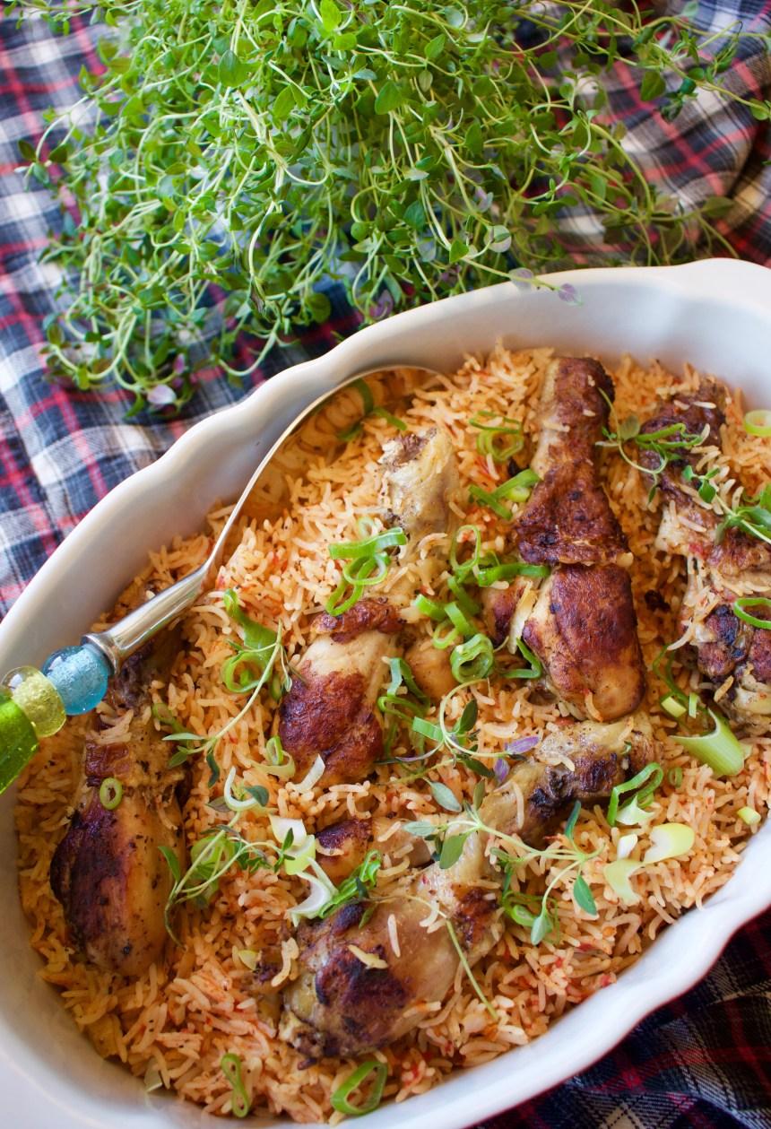 Kyckling med ris