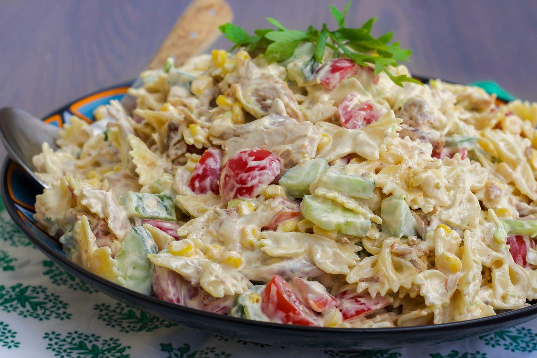 krämig pastasallad-4