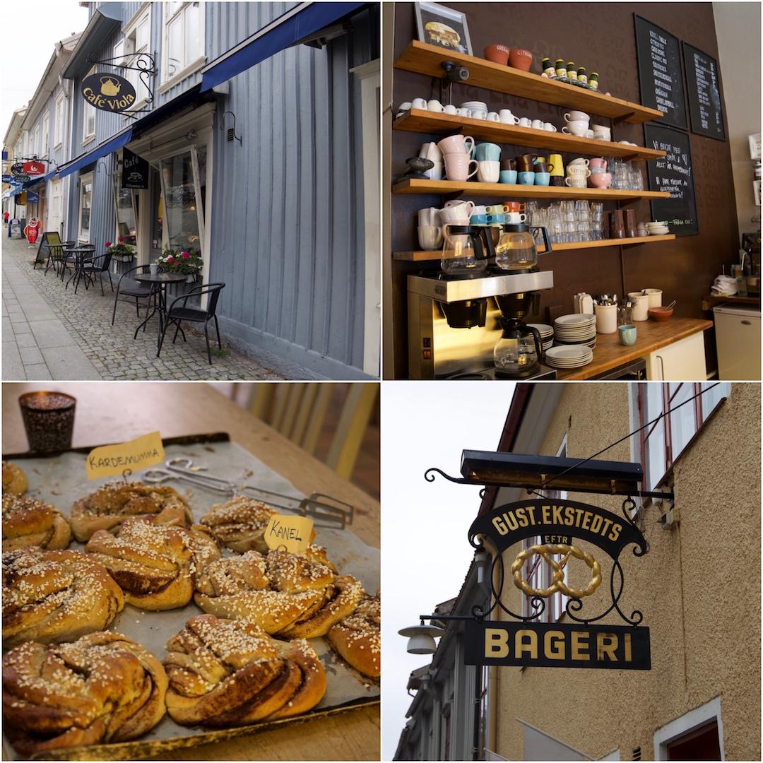 """Det är inte så konstigt att Alingsås är """"The Capital of fika"""". Vart man än vänder sig finns ett fantastiskt café med ljuvliga bakverk."""