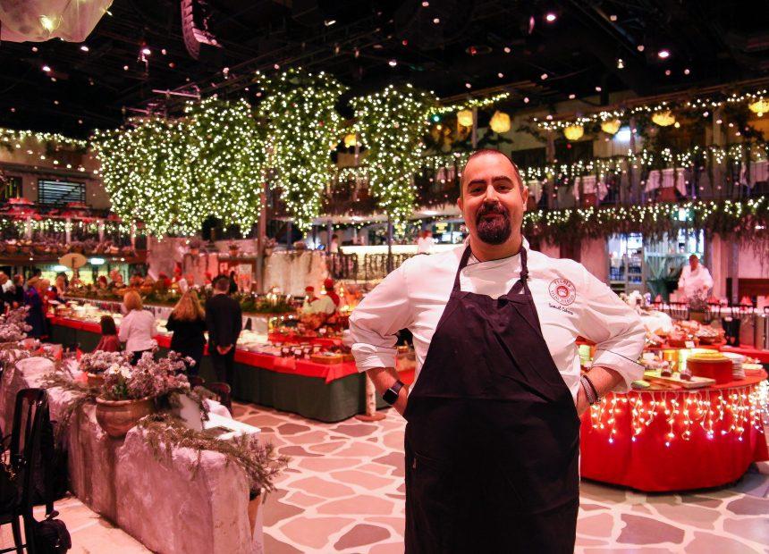 Köksmästaren Samuel Cabrera presenterade maten.