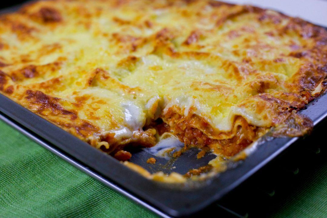 vegetarisk lasagne linser morötter