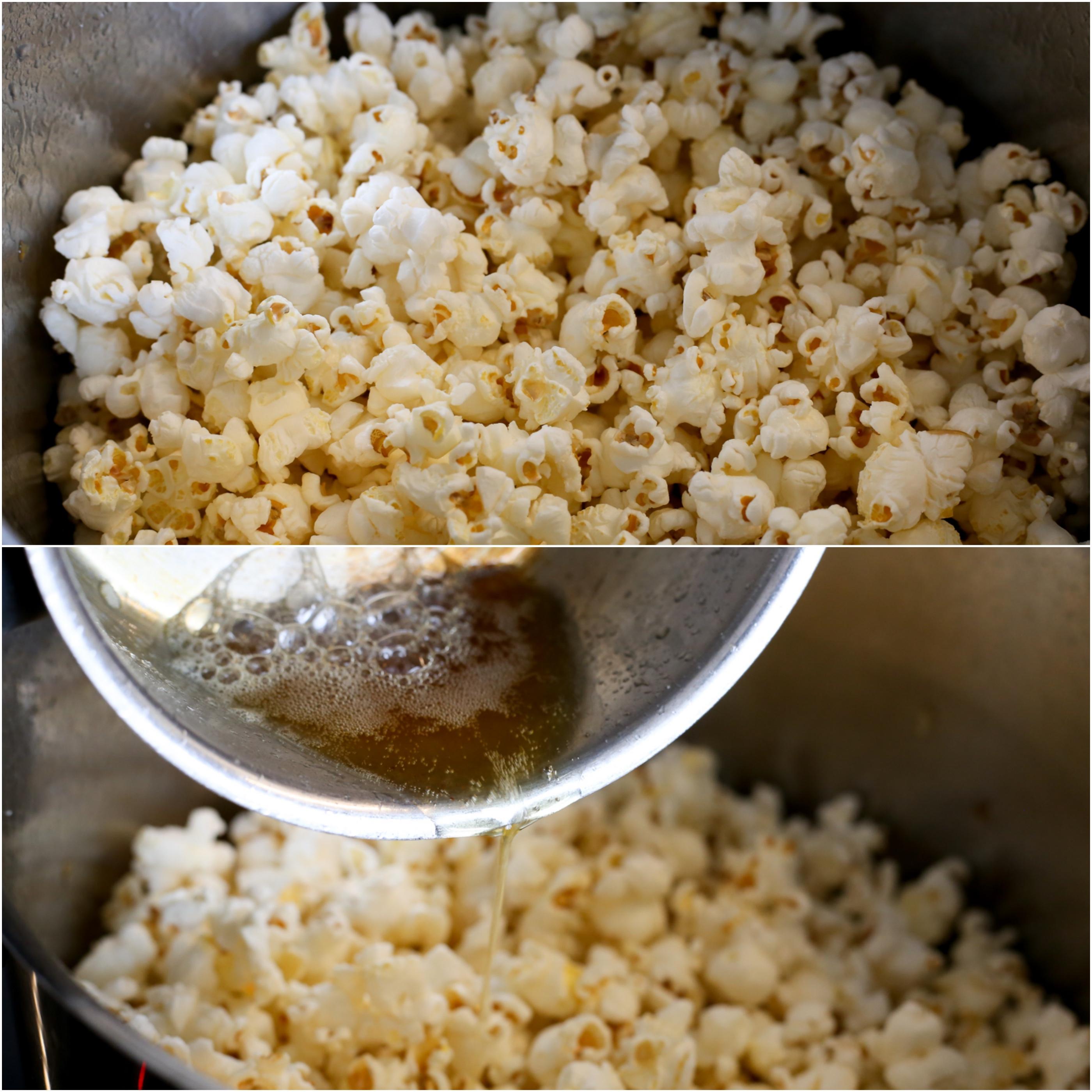 bästa sättet att poppa popcorn
