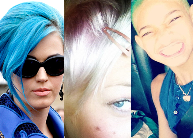 Celebrity Hair What Has Katy Perry Started Pink Dyes
