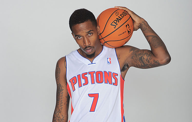 Ouch, Brandon Jennings. (Allen Einstein/NBAE/Getty Images)