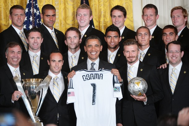 President Obama and that LA Galaxy