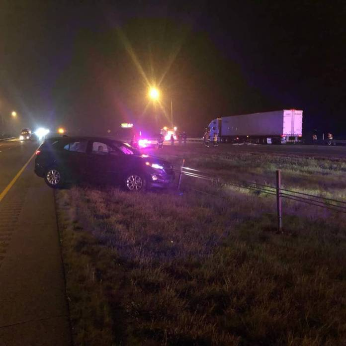 Driver takes car from scene of crash – then he's killed by semi, Indiana sheriff says